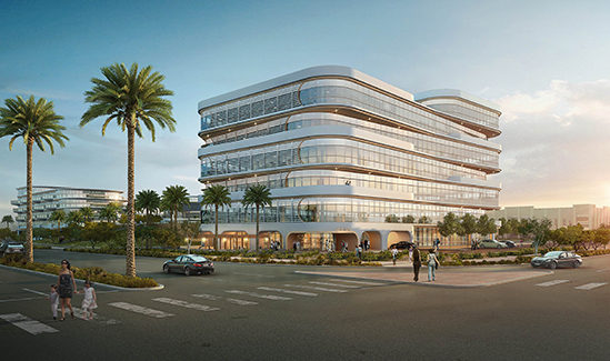 Rendering of Town Center Charleston Office