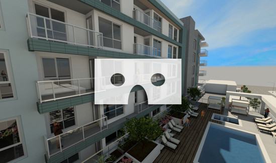 Emerald Balcony View VR