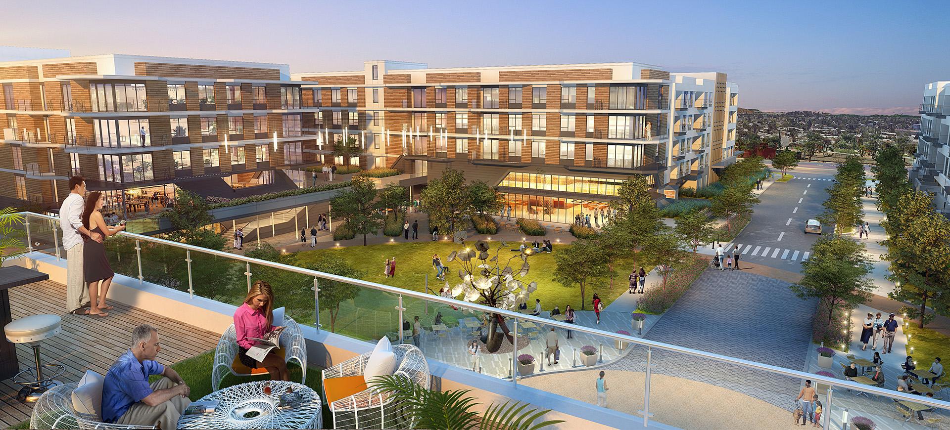 San Mateo's Hayward Park Sees Building Surge