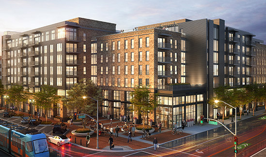 Rendering of 4th & Main