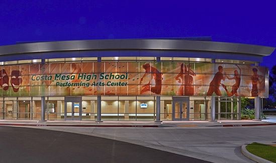 Image of Costa Mesa HS Performing Arts Center